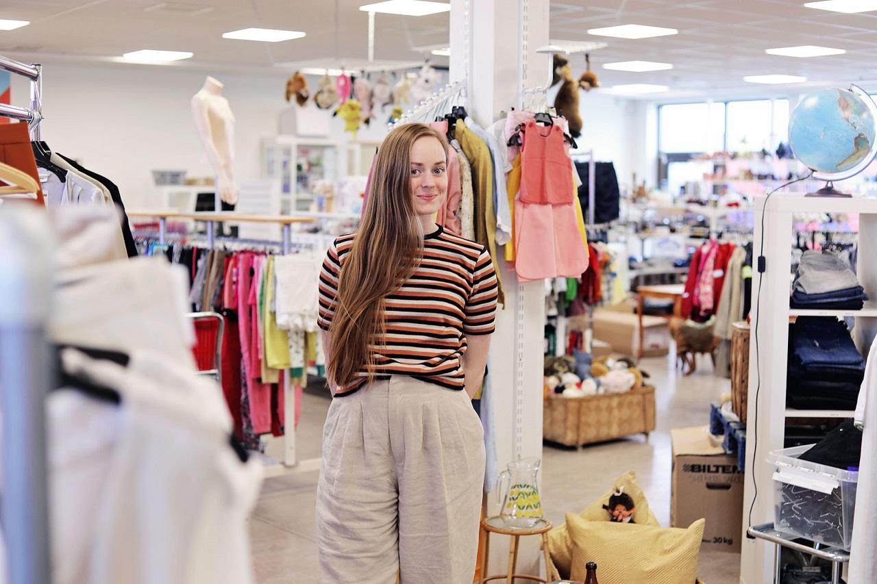 Bạn có thể mua được những đồ dùng đẹp, tốt, giá phải chăng tại các cửa hàng đồ cũ ở Thụy Điển