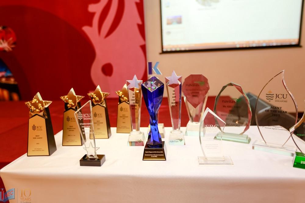 Các giải thưởng của INEC