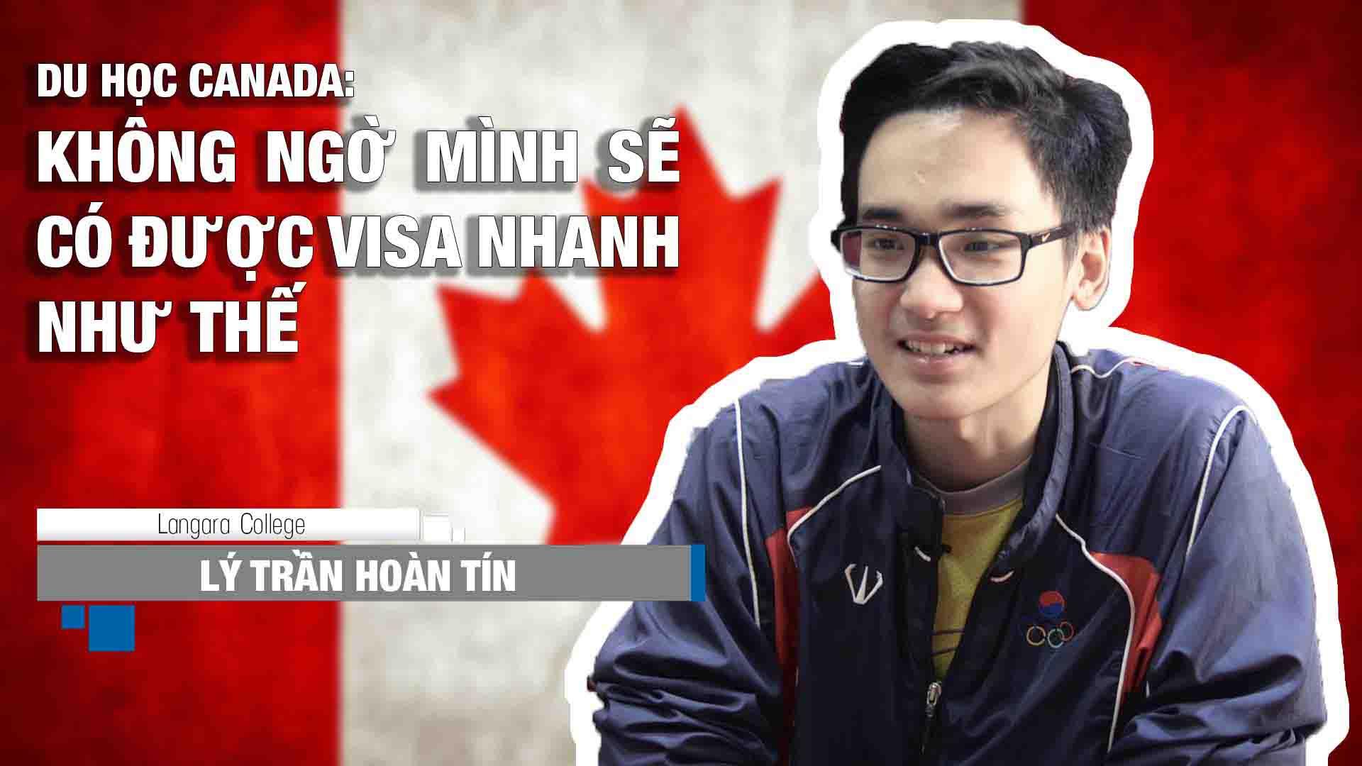 Chia sẻ của bạn Lý Trần Hoàn Tín, sinh viên trường Langara Collge (Vancouver, Canada) về việc chuẩn bị hồ sơ và làm visa du học Canada. Với Tín, quá trình này diễn ra chỉ trong vòng hơn 1 tháng, nhanh hơn rất nhiều so với mong đợi. Và công ty bạn chọn để hỗ trợ là công ty tư vấn du học INEC!