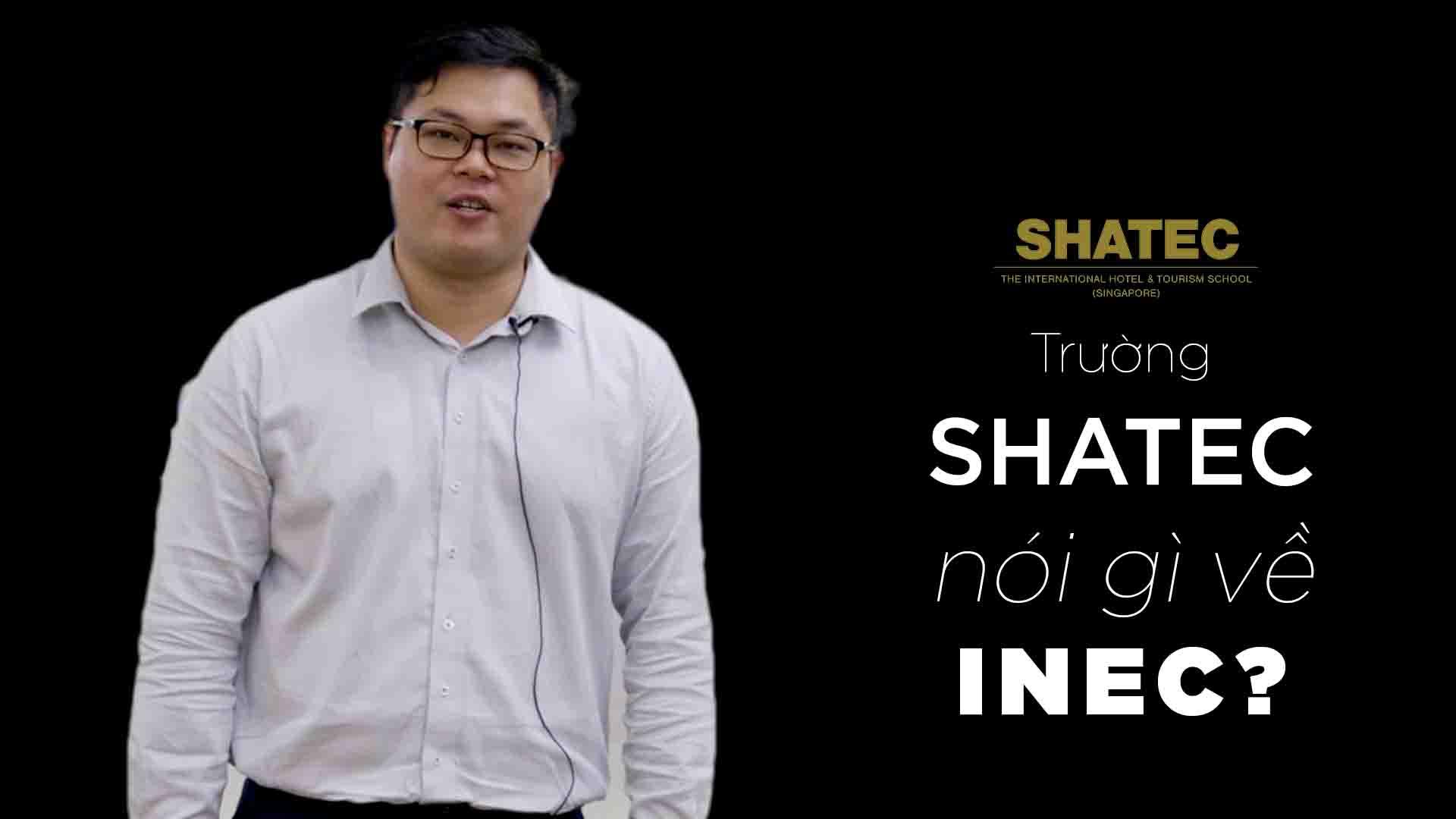 Ông Kelvin Sing là đại diện đến từ Học viện SHATEC Singapore – trường dạy ngành Nhà hàng Khách sạn chuyên nghiệp tại Đảo quốc Sư tử. SHATEC cung cấp chương trình đào tạo ngành Nhà hàng Khách sạn, Ẩm thực, Đầu bếp… Ông chia sẻ, mối quan hệ giữa SHATEC và INEC diễn ra trong một khoảng thời gian dài trên cơ sở làm việc chuyên nghiệp và mong muốn sự hợp tác này sẽ kéo dài trong thời gian tới.
