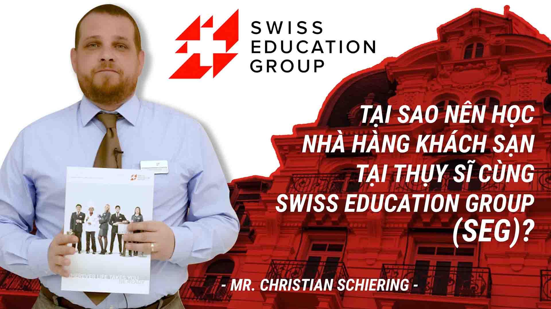 Thụy Sĩ vốn được biết đến là nơi khai sinh ra ngành nhà hàng khách sạn cho toàn thế giới. Đây cũng là nơi đào tạo nên 90% nhà quản lý, điều hành tài ba cho các khách sạn, nhà hàng cao cấp trên khắp toàn cầu. Thụy Sĩ cũng chính là nơi sở hữu số lượng các trường đào tạo ngành nhà hàng khách sạn danh tiếng nhiều hơn bất kỳ quốc gia nào khác, nổi bật trong số đó phải kể đến Swiss Education Group (SEG) với mạng lưới 5 trường thành viên là César Ritz Colleges, Culinary Arts Academy, Hotel Institute Montreux, IHTTI School of Hotel và Swiss Hotel Management School. Hãy lắng nghe những chia sẻ của Mr. Christian Schiering (Quản lý tuyển sinh khu vực châu Á - Thái Bình Dương) của SEG về chương trình học tại 5 trường thành viên để biết đâu là chọn lựa tốt nhất dành cho bạn nhé! Cơ hội gặp gỡ và trò chuyện trực tiếp với Mr. Christian Schiering để được chia sẻ kinh nghiệm khởi nghiệp trong ngành cũng như tìm hiểu chi tiết chương trình đào tạo nhà hàng khách sạn tại Thụy Sĩ, triển vọng việc làm và thăng tiến trong tương lai. • Lúc: 9h00 Chủ nhật, ngày 10/03/2019 • Tại: Liberty Central Saigon Riverside Hotel, 17 Tôn Đức Thắng, Quận 1, TP. HCM Đăng ký tham dự tại đây hoặc hotline: 093 409 8883. Xem thông tin chi tiết tại: https://duhocinec.com/hoi-thao-du-hoc...  Liên hệ đại diện tuyển sinh chính thức của Swiss Education Group tại Việt Nam - Công ty Du học INEC để được tư vấn và hỗ trợ chi tiết: • Tổng đài: 1900 636 990 • Hotline KV miền Bắc & Nam: 093 409 2662 - 093 409 9948 • Hotline KV miền Trung: 093 409 9070 - 093 409 4449 • Email: inec@inec.vn • Website: https://duhocinec.com/du-hoc-thuy-si