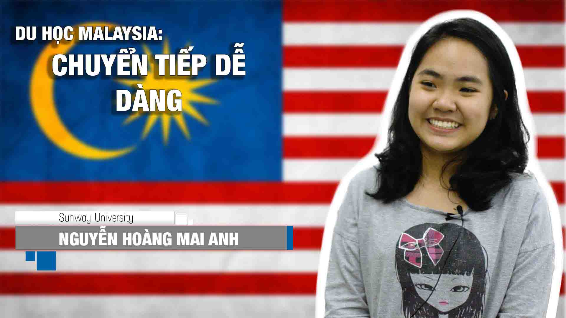 Nguyễn Hoàng Mai Anh - một thành viên khác của gia đình CIMP tại Đại học Sunway Sunway - Ngôi trường dẫn đầu Malaysia về chất lượng. CIMp là chương trình được rất nhiều bạn học sinh phổ thông tại Việt Nam lựa chọn. Với CIMP, học sinh sẽ được cấp bằng THPT Canada và dễ dàng nộp đơn vào một trường đại học nào đó trên toàn thế giới, đặc biệt là những trường hàng đầu Mỹ, Canada. Thực tế cho thấy, 100% học sinh INEC theo học khóa CIMP đều chuyển tiếp thành công.