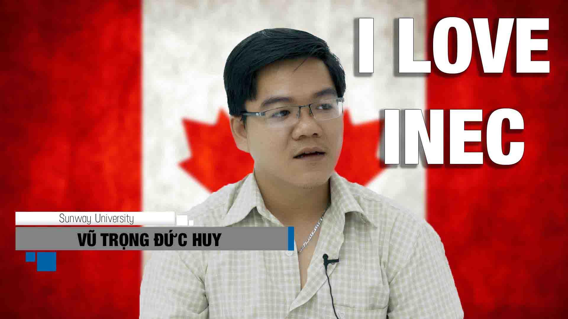 Du học Malaysia chương trình CIMP tại Đại học Sunway là một bước đệm vững chắc để du học Canada, Mỹ khi bạn có hồ sơ không quá đẹp hoặc khó chứng minh tài chính. Cũng giống như nhiều bạn khác, Vũ Trọng Đức Huy cũng đã thành công chuyển tiếp Canada để hoàn thành mục tiêu học tập của mình. Tính đến thời điểm hiện tại, 100% HSSV Việt Nam đã chuyển tiếp các nước thành công nhờ CIMP và giành nhiều suất học bổng hấp dẫn của trường đại học Anh, Mỹ, Úc.