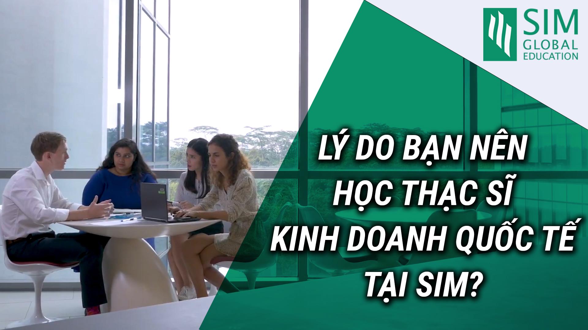 Du học Singapore bậc thạc sĩ tại sao bạn nên chọn chương trình kinh doanh quốc tế tại SIM? Hãy nghe chia sẻ của Lan - cựu sinh viên chương trình học này tại SIM và hiện là chuyên viên bán hàng và marketing kỹ thuật số của Blackbox Singapore, một công ty chuyên về giải pháp tiếp thị kỹ thuật số nổi tiếng tại Singapore. Có thể bạn cũng sẽ bị thuyết phục như cô ấy về đất nước Singapore xinh đẹp, nhiều cơ hội, chương trình học gắn liền với thực tế, cộng đồng sinh viên đa dạng văn hóa tại SIM… Ngoài ra, nếu có nhu cầu tìm hiểu toàn diện về SIM từ chương trình đào tạo, yêu cầu đầu vào, học bổng và hỗ trợ tài chính đến triển vọng việc làm, mời bạn tham gia sự kiện Open Day - Cùng SIM lĩnh hội chương trình chuẩn quốc tế do INEC hợp tác với SIM tổ chức vào lúc 16h00 thứ Bảy, ngày 03/08/2019 tại 51L, Nguyễn Chí Thanh, Q. Hải Châu, Đà Nẵng và 9h00 Chủ nhật, ngày 04/08/2019, tại KS Liberty Central Riverside Saigon, 17 Tôn Đức Thắng, Q. 1, TP. HCM. Hotline đăng ký: 093 409 8883. Link tham khảo: ttps://duhocinec.com/du-hoc-singapore-cung-sim-linh-hoi-chuong-trinh-chuan-quoc-te Liên hệ INEC - Đại diện tuyển sinh chính thức là Best Agent 2018 của Học viện SIM tại Việt Nam để được hỗ trợ du học Singapore tốt nhất. • Tổng đài: 1900 636 990 • Hotline KV miền Bắc và Nam:  093 409 4411 • Hotline KV miền Trung: 093 409 9070  • Email: inec@inec.vn • Website: https://duhocinec.com/du-hoc-singapore