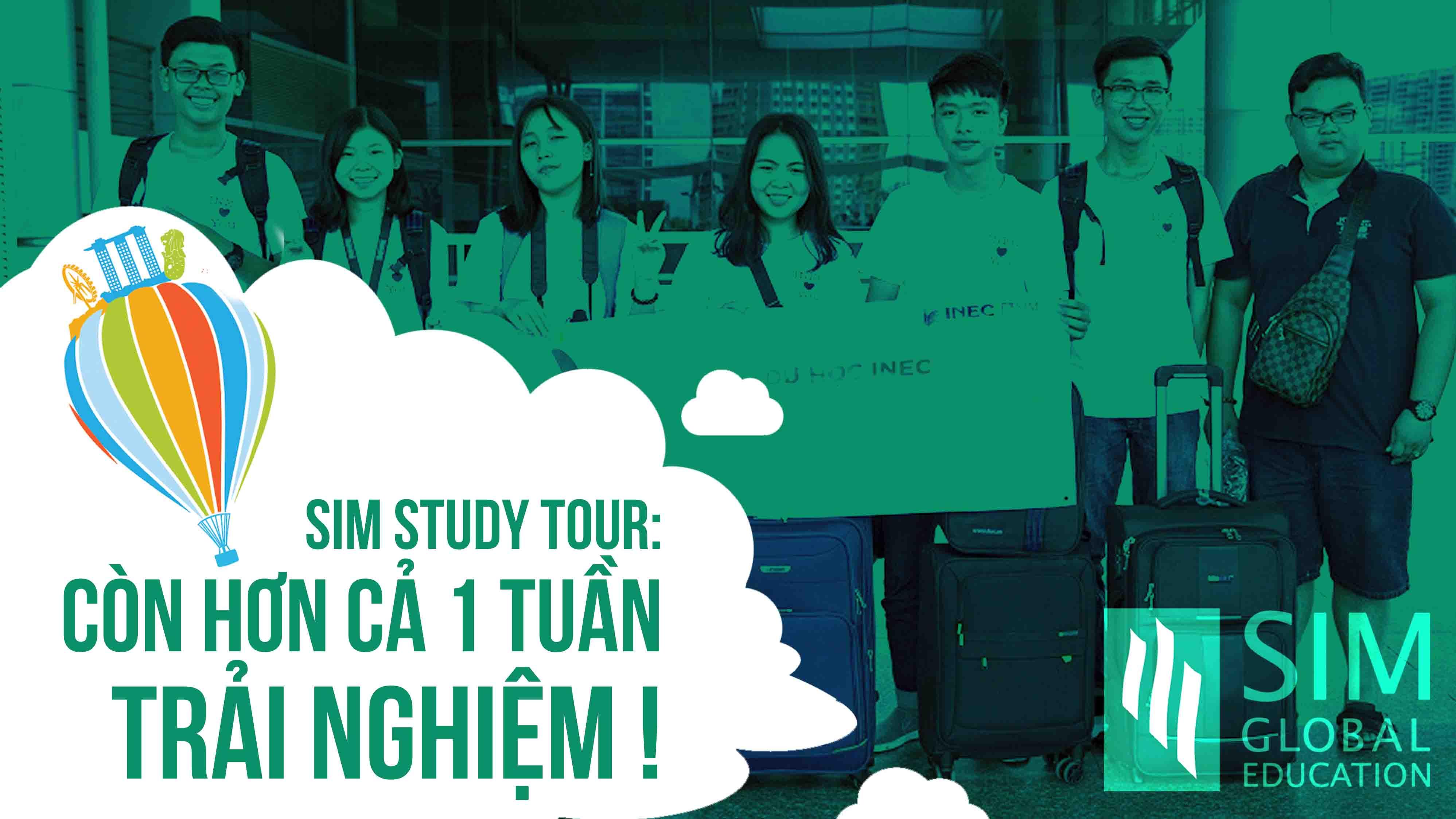"""7 ngày đầy ắp niềm vui, tiếng cười và những điều bổ ích là """"chiến lợi phẩm"""" của các bạn học sinh sinh viên sau SIM Study Tour. Đây là chương trình trải nghiệm môi trường học tập tuyệt vời tại Học viện SIM và khám phá cuộc sống muôn màu của Singapore.  Không chỉ tham quan khu học xá rộng đến 100.000m2 của Học viện SIM, các bạn còn tham gia các lớp học thú vị để phát triển những kỹ năng như làm việc nhóm, sáng tạo, lên kế hoạch, thuyết trình. """"Lớp học thử thách"""" với hoạt động leo lên một công trình cao là một trong những điều để lại nhiều ấn tượng nhất với các bạn. Không chỉ vượt qua giới hạn của bản thân, thử thách này còn rèn luyện cho các bạn tinh thần đồng đội.  SIM Study Tour là hoạt động thường niên của Học viện SIM nhằm mở mang tầm mắt cho học sinh sinh viên quốc tế về việc học tập và sinh sống tại Singapore, giới thiệu cho các bạn một trong những nền giáo dục và môi trường sống tốt nhất.  Xem thêm tại: https://duhocinec.com/du-hoc-singapor..."""