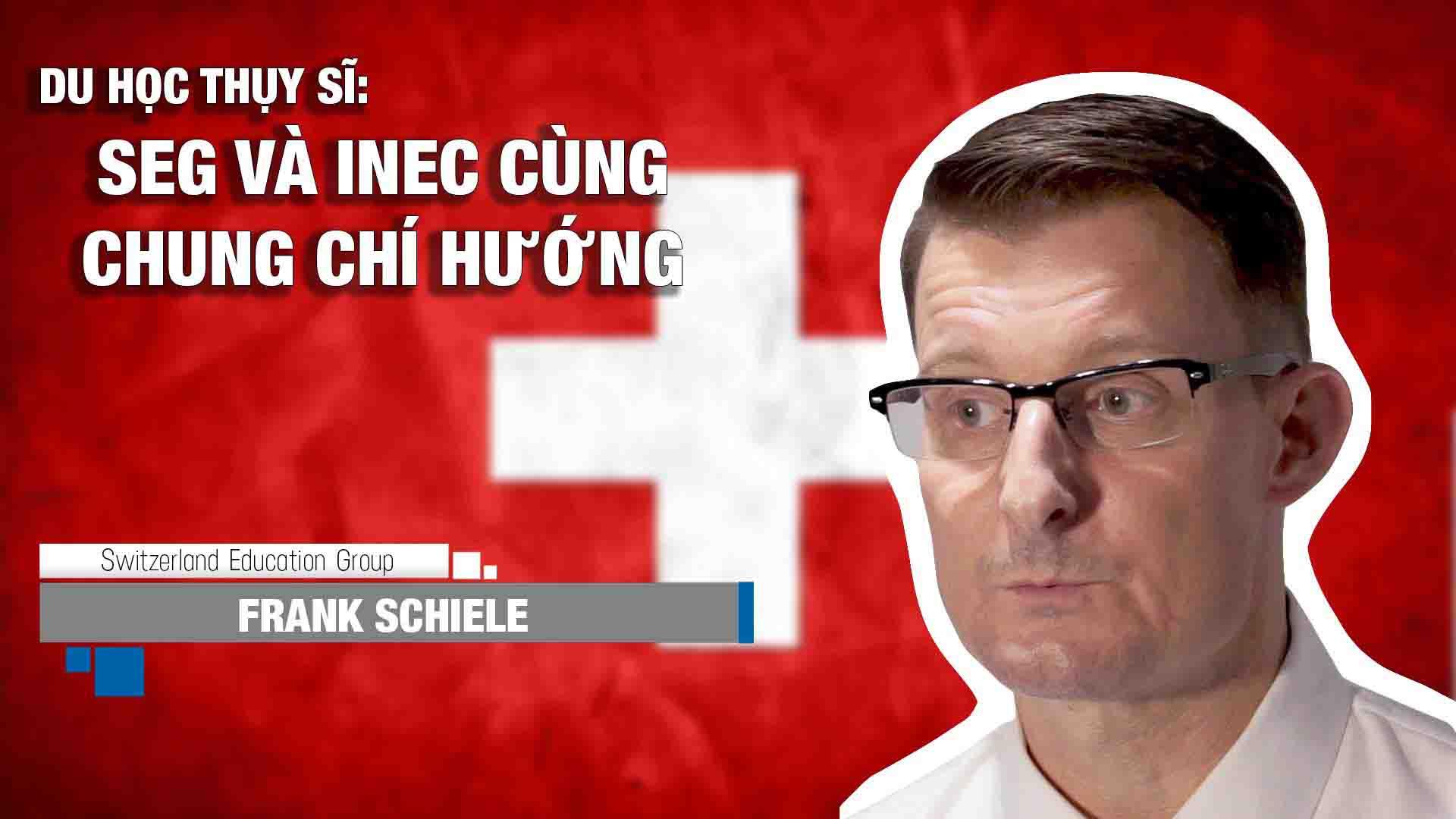 Chia sẻ của ông Frank Schiele – Đại diện Tuyển sinh khu vực Châu Á Thái Bình Dương của Tập đoàn Swiss Education Group (SEG) Thụy Sĩ về chương trình học tại 5 trường thành viên nổi tiếng về chất lượng đào tạo ngành Ẩm thực – Du lịch – Nhà hàng – Khách sạn. Nhờ vào uy tín không ngừng được cải thiện cùng những sự hỗ trợ tuyệt vời cho sinh viên, SEG được hàng ngàn HSSV lựa chọn vào mỗi năm, hình thành nên cộng đồng giáo dục đa văn hóa thân thiện.