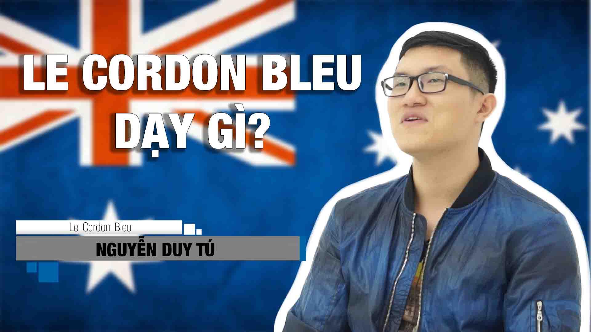 Le Cordon Bleu ở Úc dạy gì nhỉ? Chương trình học có khó không? Thầy cô giáo bạn bè ở đó như thế nào? Lắng nghe chia sẻ của bạn Nguyễn Duy Tú đang học Hotel Management tại Le Cordon Bleu Adelaide nhé.