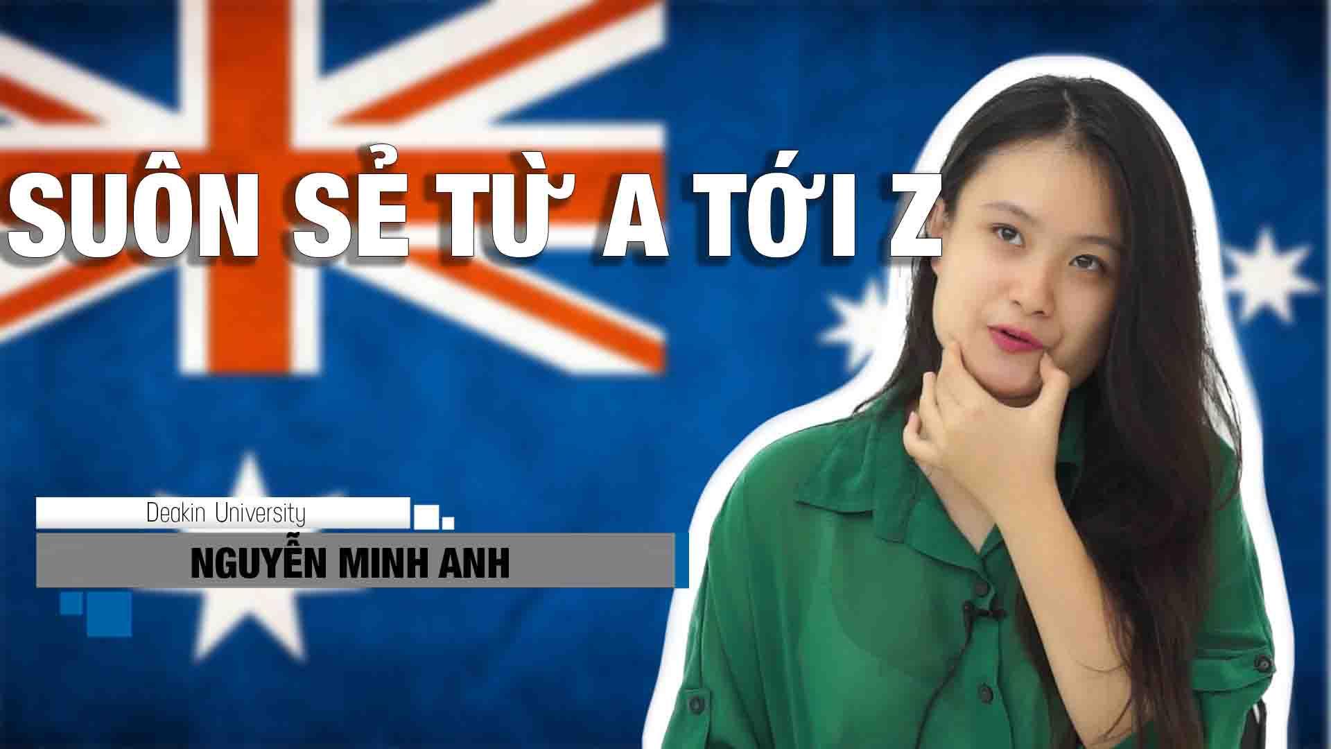 Lắng nghe chia sẻ của bạn Nguyễn Minh Anh, tân sinh viên ngành Dinh dưỡng, trường Deakin - Úc. Làm sao để hồ sơ du học Úc suôn sẻ từ A tới Z?