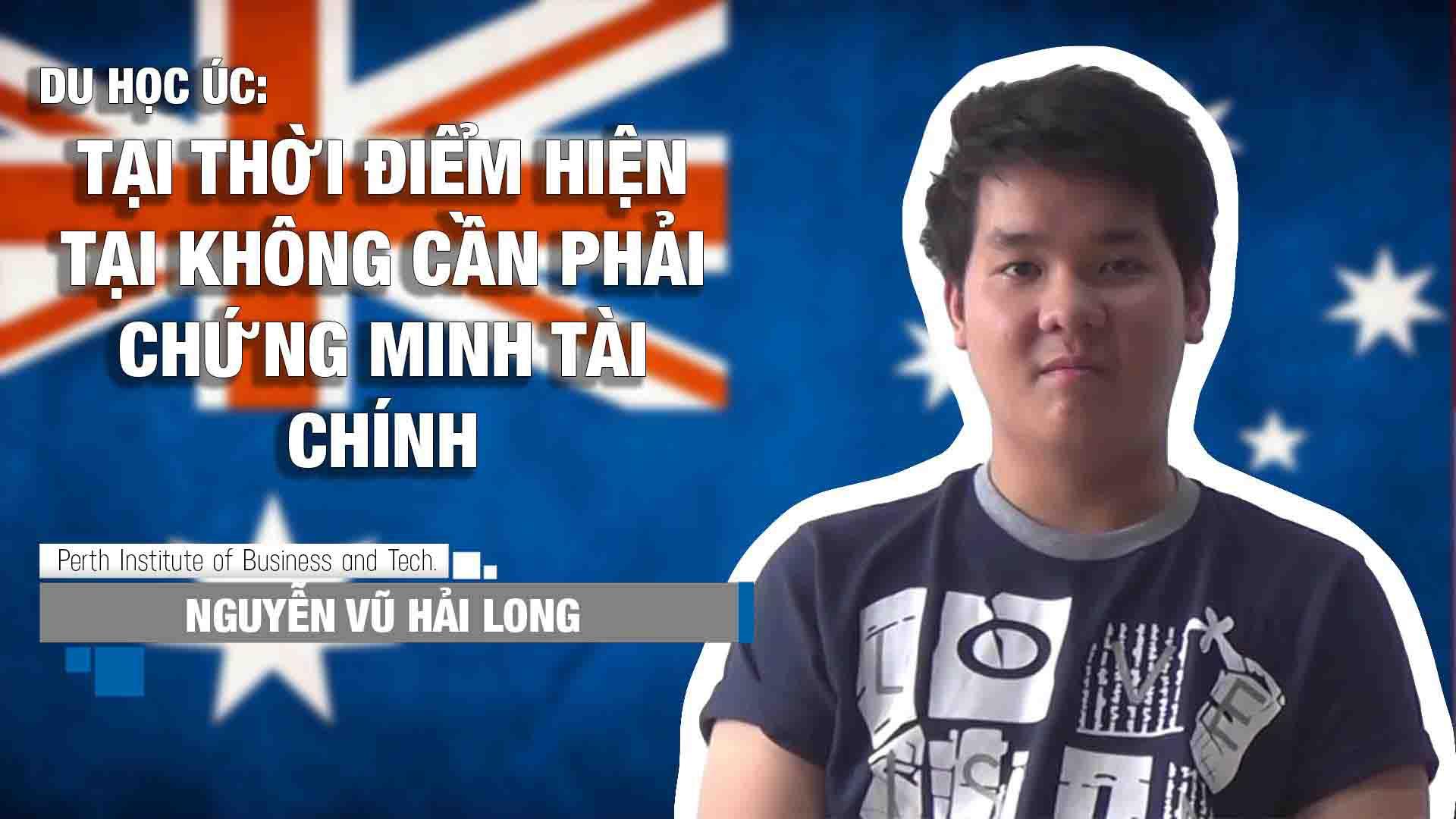 Học sinh Long sau khi làm hồ sơ tại Du học INEC đã đi du học tại trường PIBT - Úc, sau một thời gian học tập tại trường, Long đã quay về Việt Nam thăm gia đình và chia sẽ một số kinh nghiệm và trải nghiệm khi du học tại Úc.