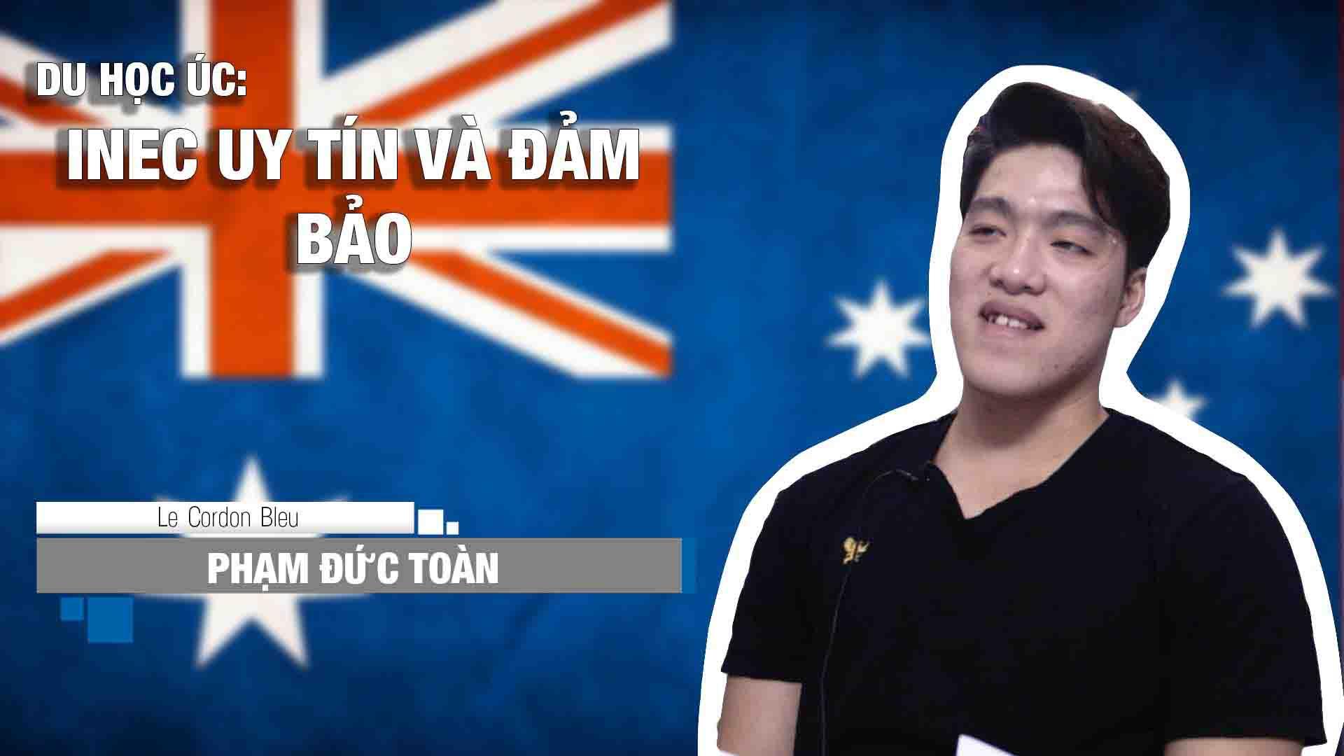 Phạm Đức Toàn đến từ thành phố Biên Hòa, tỉnh Đồng Nai sẽ nhập học tại Học viện Le Cordon Bleu vào tháng 01/2017. Với ước mơ trở thành một đầu bếp tài năng làm việc tại khách sạn nhà hàng 5 sao đẳng cấp đã không ngừng thôi thúc Đức Toàn ghi danh vào chương trình Cao đẳng nâng cao, ngành đầu bếp tại Le Cordon Bleu chi nhánh Melbourne.
