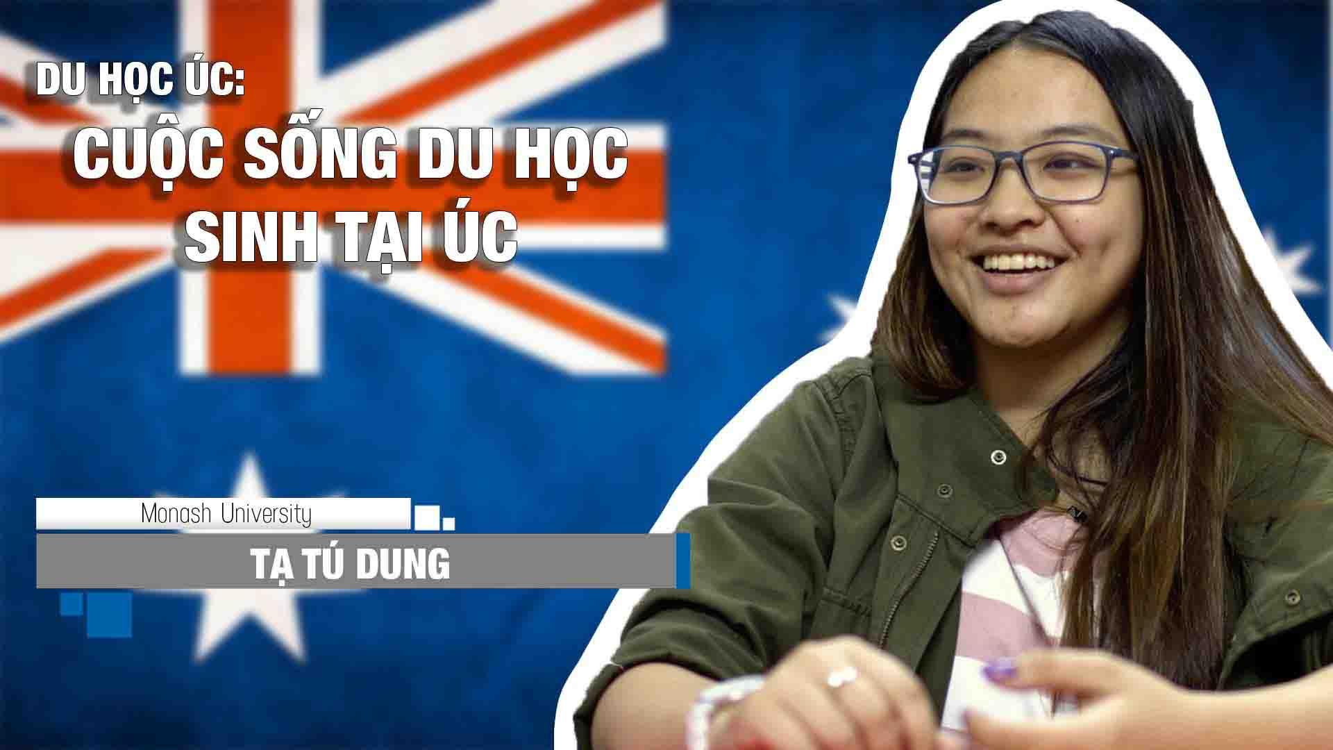 Chia sẻ bổ ích về cuộc sống và học tập của bạn Tạ Tú Dung – hiện đang theo học chương trình Cử nhân Kinh doanh, chuyên ngành Kế toán tại trường Đại học Monash. Đây là ngôi trường luôn được đánh giá cao cho chất lượng học thuật và nghiên cứu tuyệt vời.