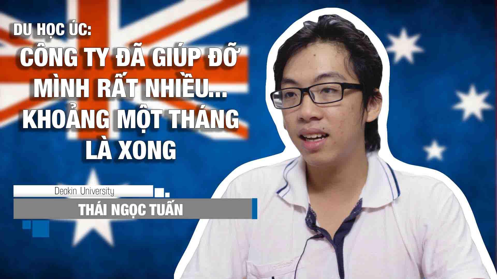 Chia sẻ của bạn Thái Ngọc Tuấn – Tân sinh viên trường Đại học Deakin chương trình Cử nhân ngành Thương mại, kỳ tháng 10/2016.