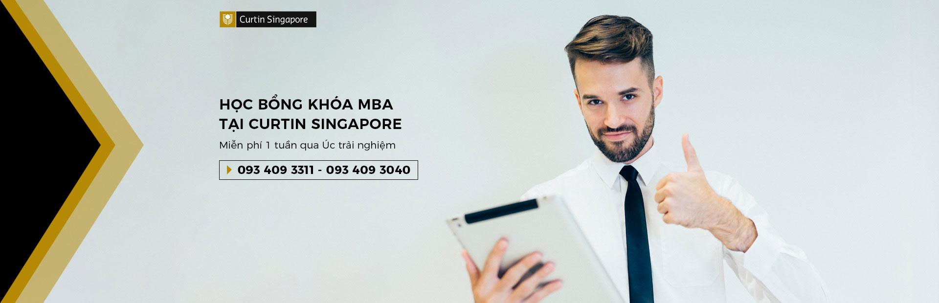 Banner Curtin MBA