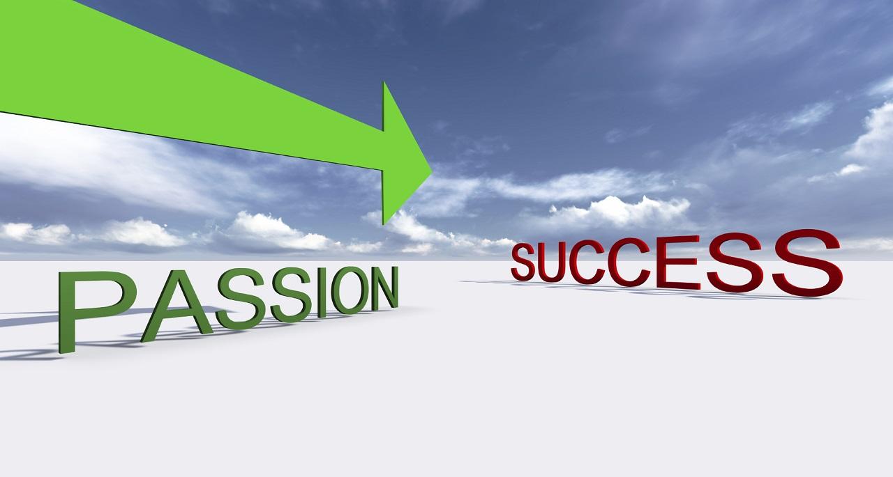 Bạn cần có đam mê với ngành học và nghề nghiệp lựa chọn để thành công