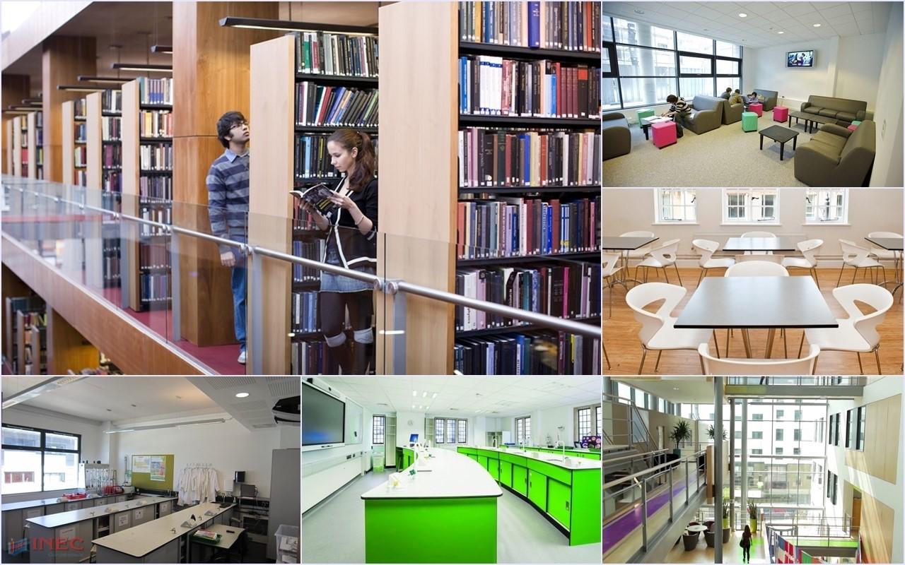 Học sinh được sử dụng tiện nghi cơ sở vật chất hiện đại cho học tập