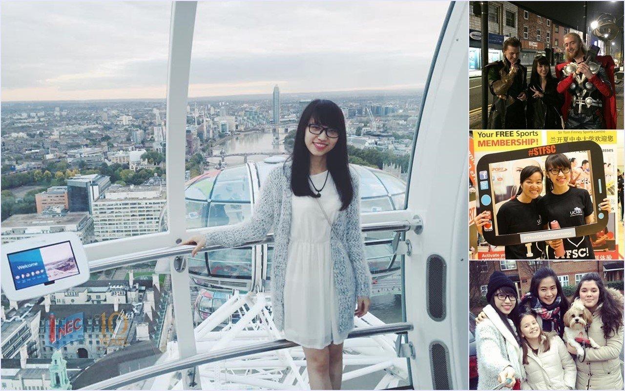 Du học Anh tại UCLan - Nguyễn Huyền Trâm 2