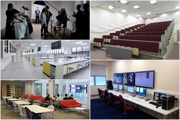 Cơ sở vật chất học thuật hiện đại tại UCLan