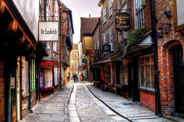 Phố Shambles là con phố đẹp nhất nước Anh