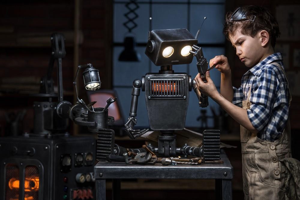 Robot là một sản phẩm tiêu biểu của ngành Kỹ thuật Cơ điện tử. Ảnh: Shutterstock