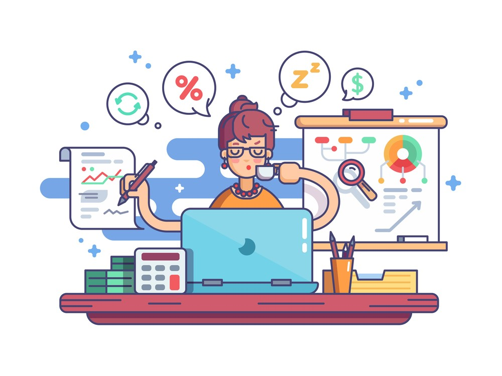 """Mặc dù có """"tỉ lệ chọi"""" cao nhưng Kế toán và Tài chính vẫn luôn """"khát"""" nhân lực có trình độ chuyên môn, kinh nghiệm làm việc. Ảnh: Shutterstock"""