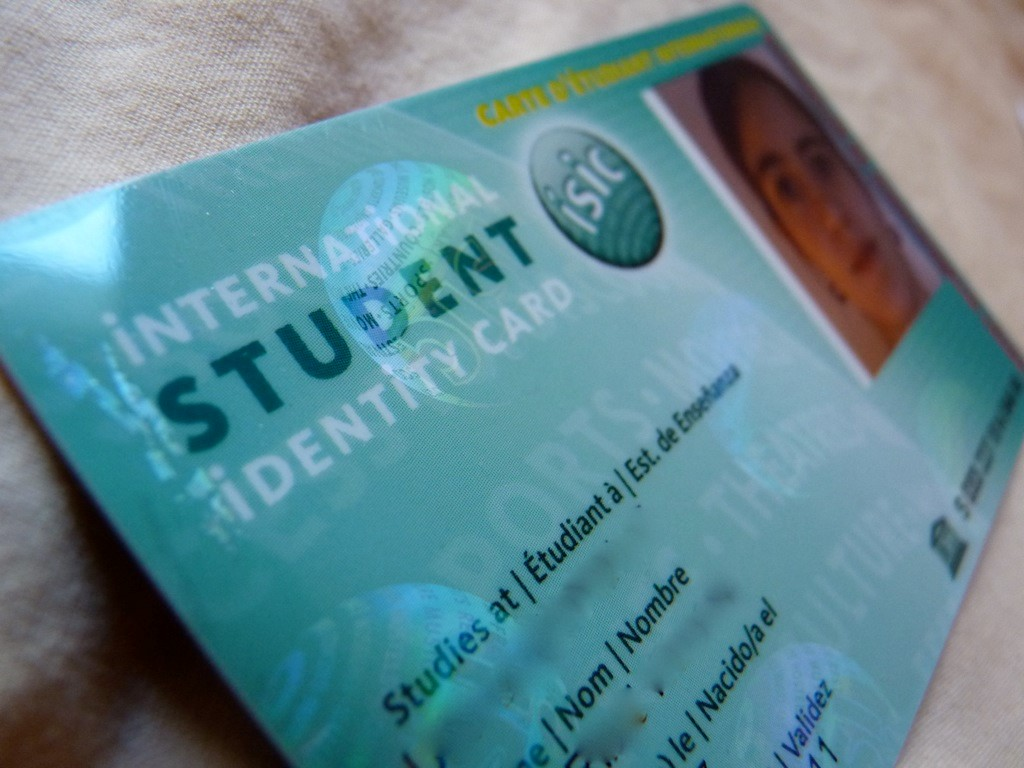ISIC là loại thẻ nhận dạng sinh viên duy nhất được công nhận trên toàn thế giới