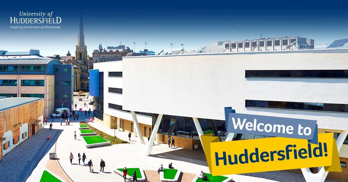 Thông tin tuyển sinh và học bổng năm 2020 của Đại học Huddersfield