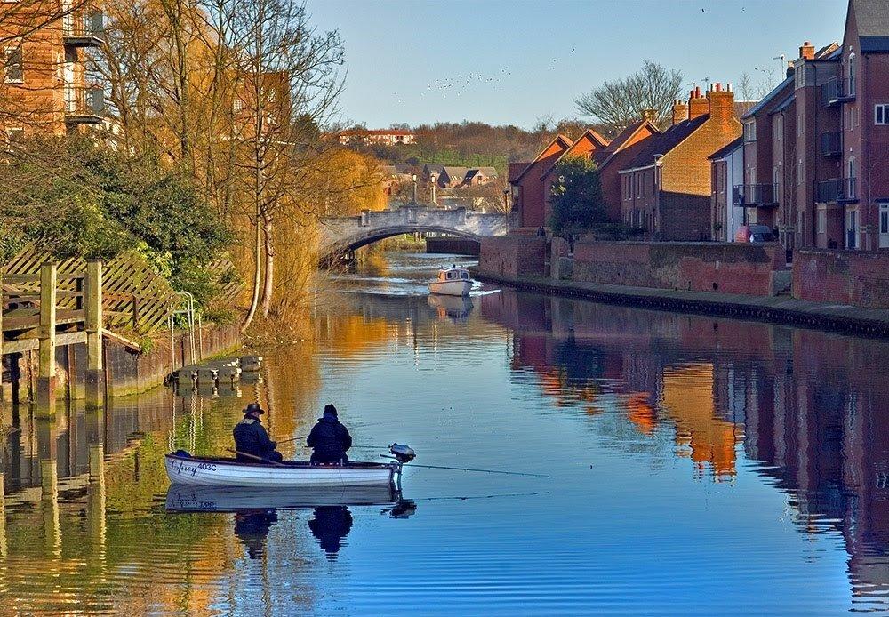 Thành phố Norwich thơ mộng