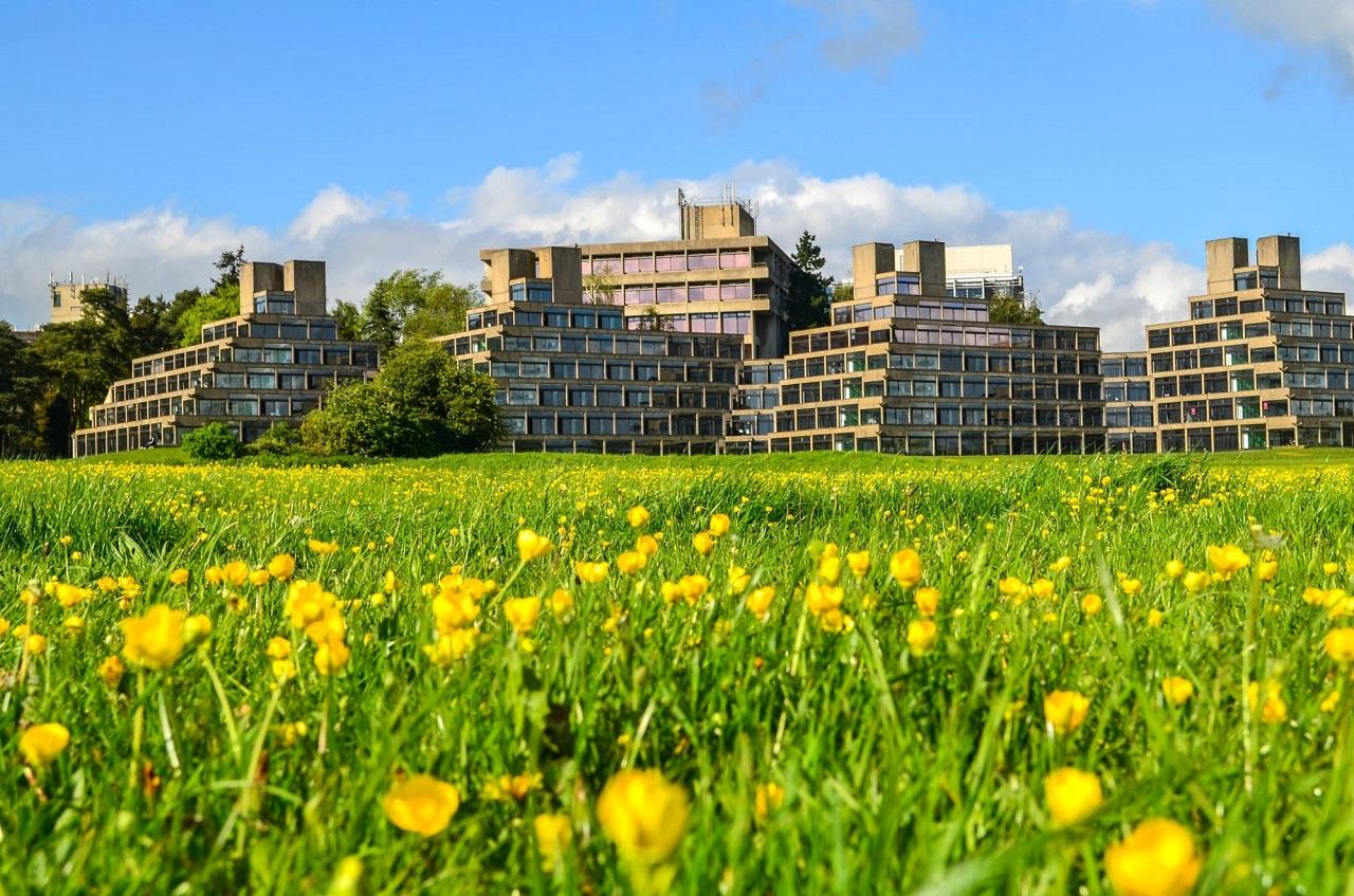 UEA có là ngôi trường có khuôn viên tuyệt đẹp tại vùng Norwich