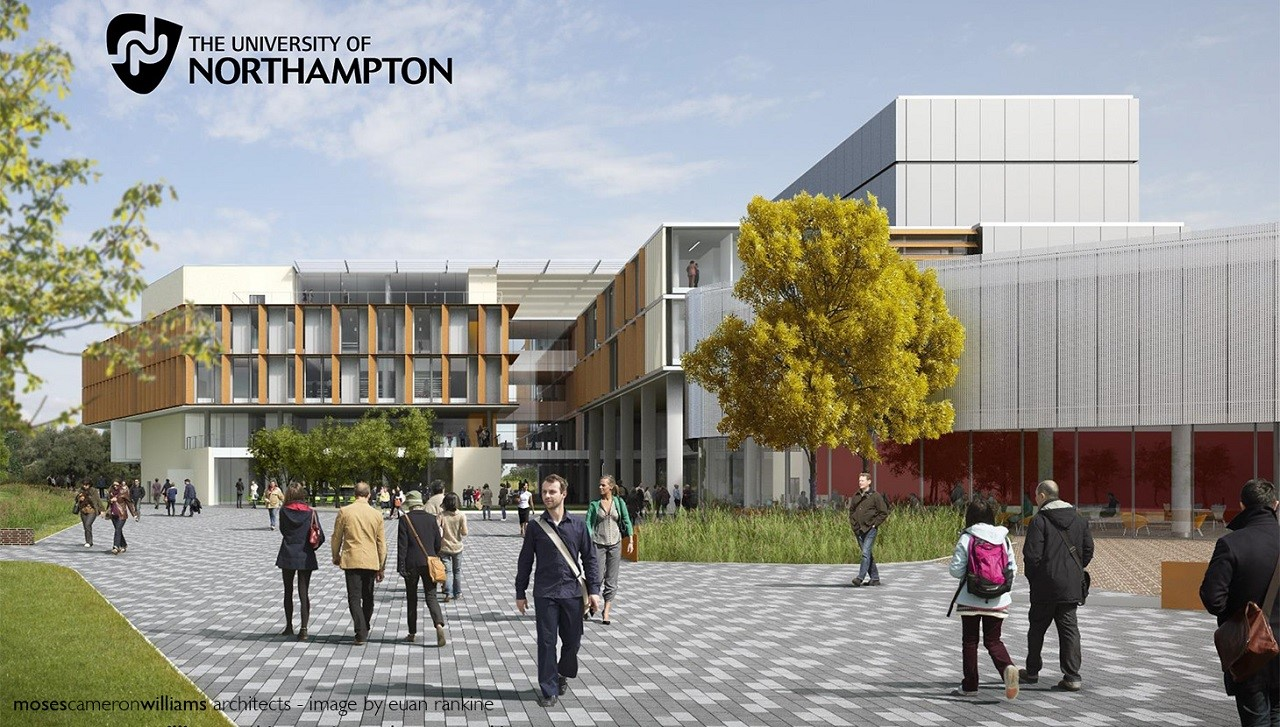 Đại học Northampton với chương trình học bổng du học Anh 2018 hấp dẫn