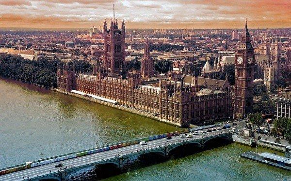 Thành phố cổ kính London