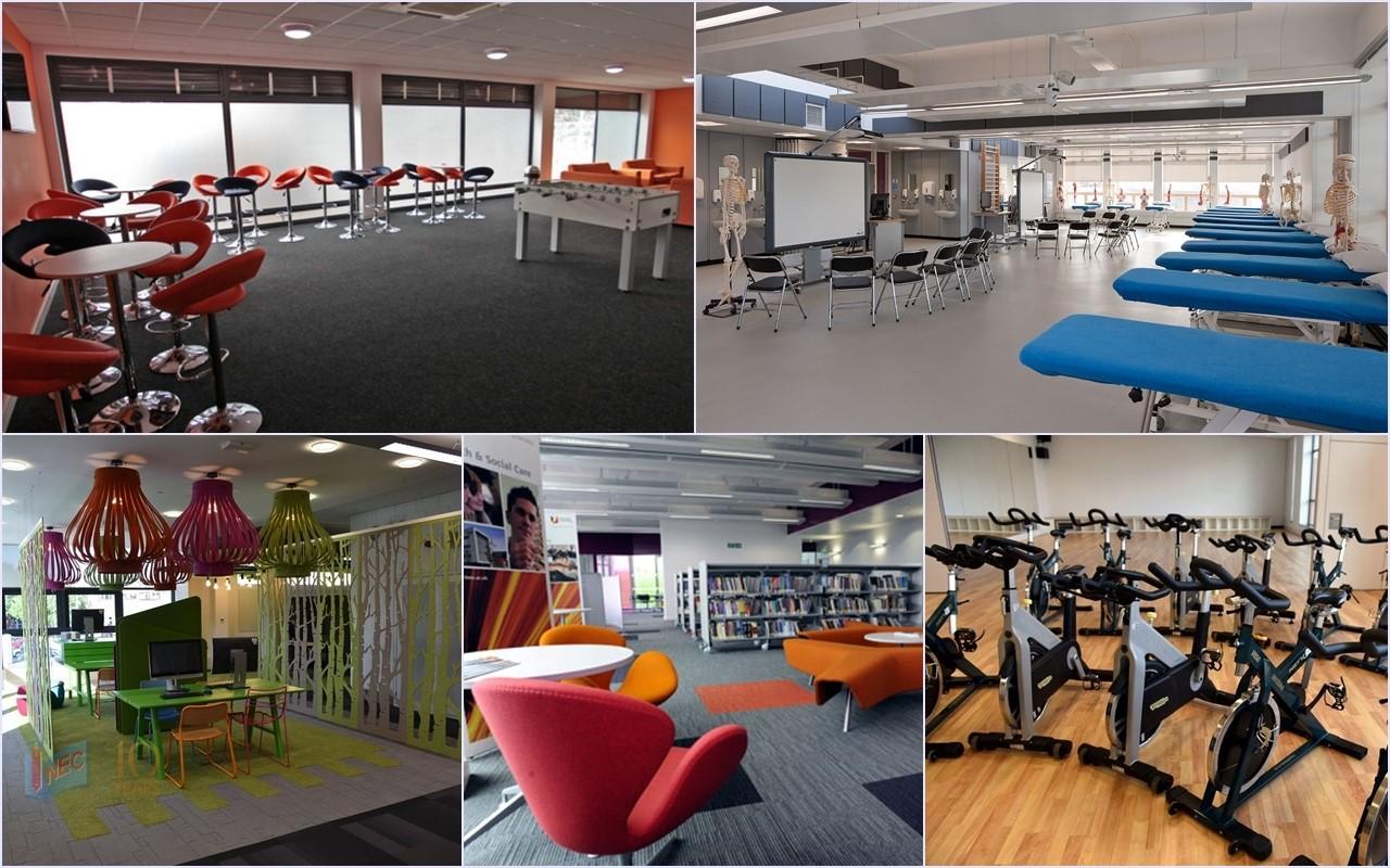 Trường đầu tư 270 triệu GBP cho cơ sở vật chất phục vụ học tập