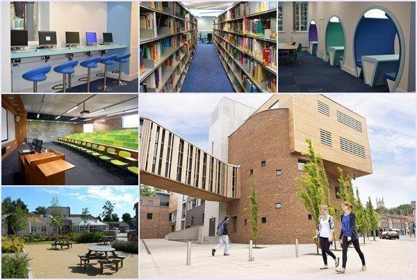 Môi trường học tập lý tưởng tại Đại học York St John