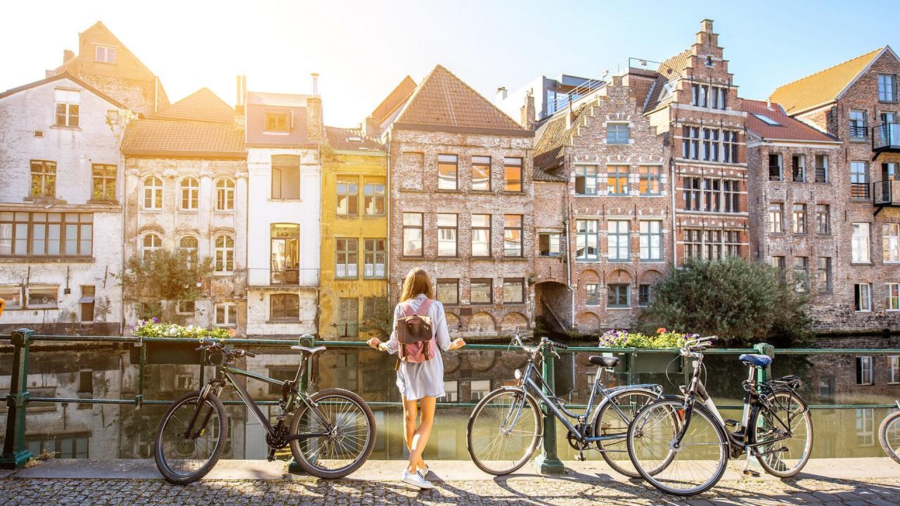 Xe đạp là phương tiện di chuyển tiết kiệm, thân thiện với môi trường và sức khỏe với sinh viên du học Bỉ