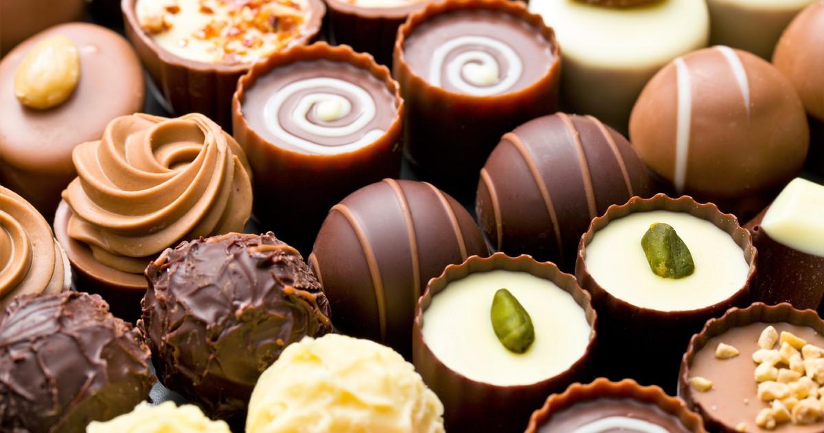 Những viên chocolate hấp dẫn ở Antwerp