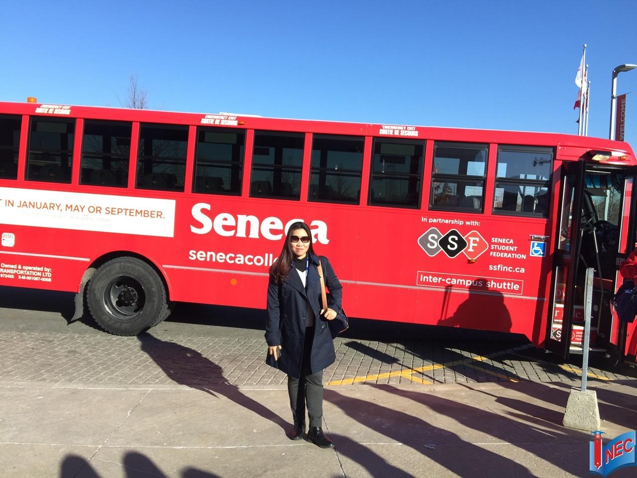 Du học INEC thăm Cao đẳng Seneca