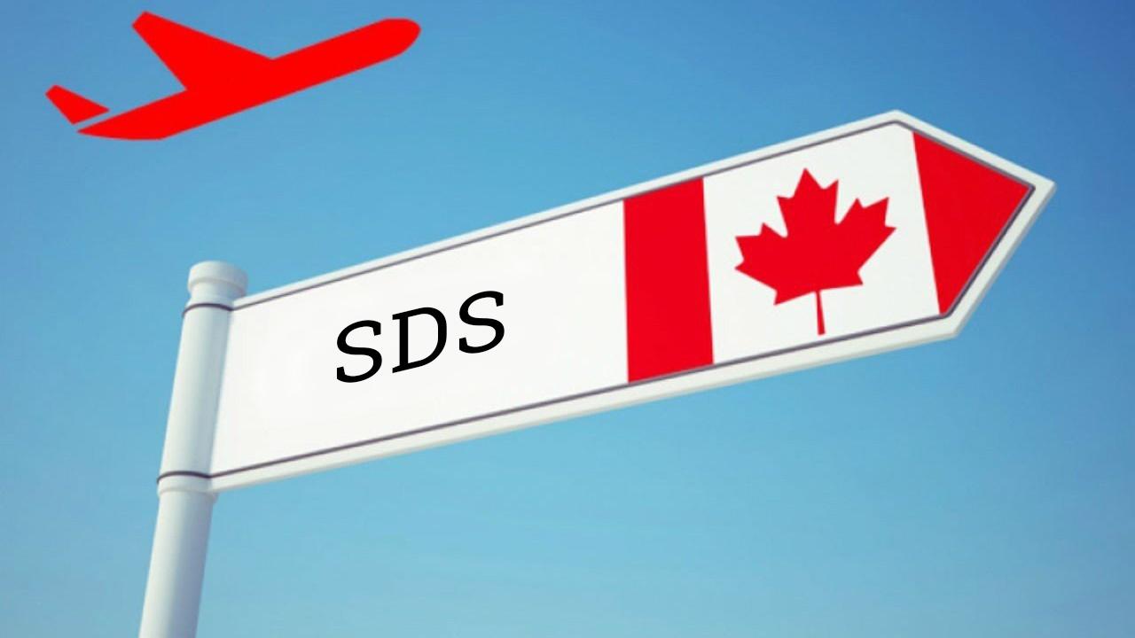 Du học canada không chứng minh tài chính SDS