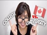 Du học Canada nên chọn cao đẳng hay đại học?