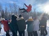 Loạt ảnh du học sinh trải nghiệm mùa đông Canada ở Winnipeg