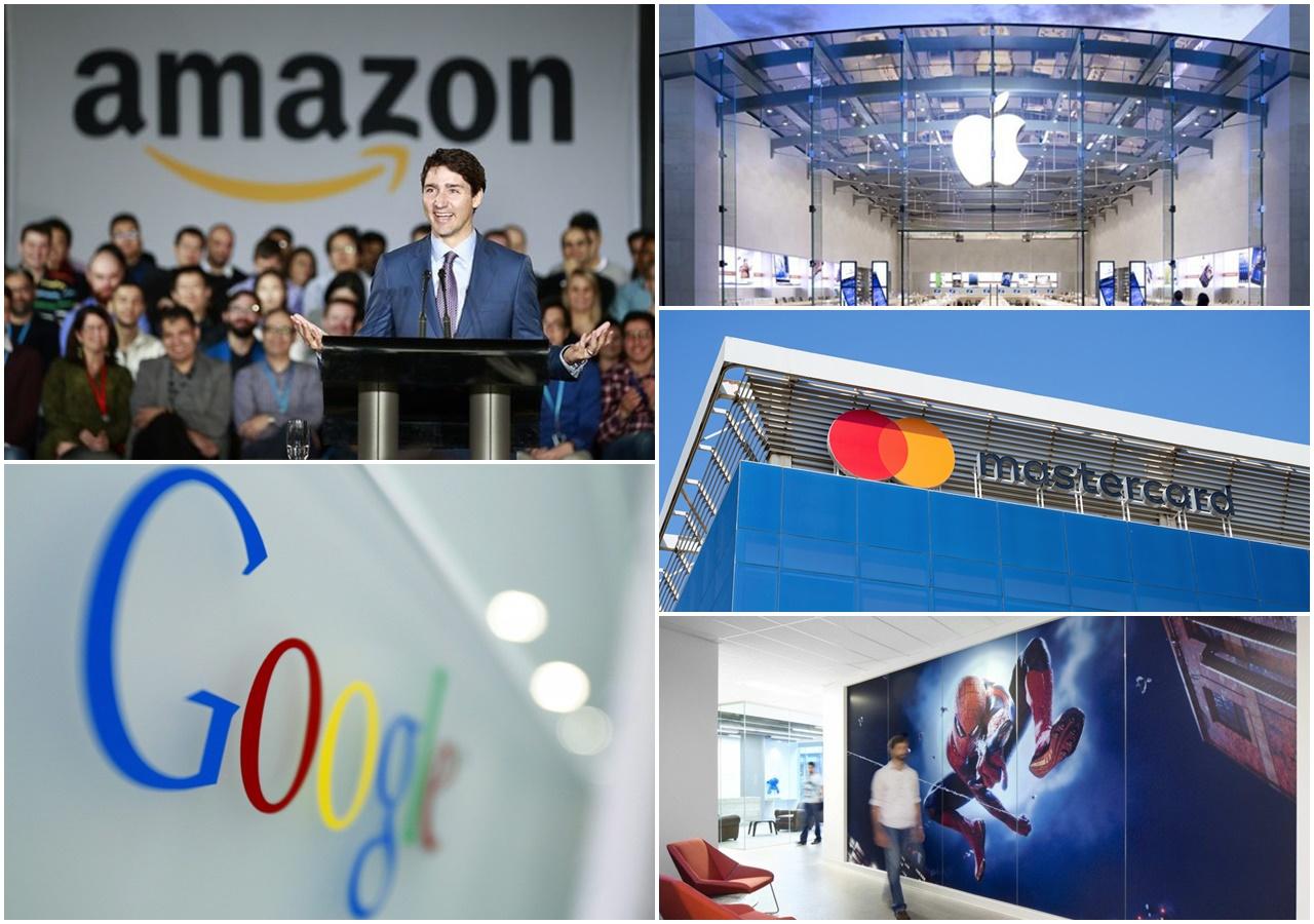Các công ty công nghệ lớn tại Vancouver