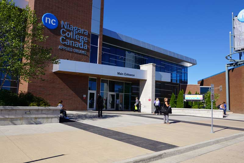 Học bổng du học Canada trường Niagara College
