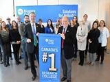 Niagara College đứng đầu danh sách 50 trường nghiên cứu ứng dụng tại Canada