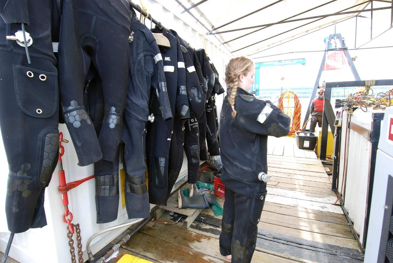 ngành kỹ năng an toàn dưới nước của Seneca College