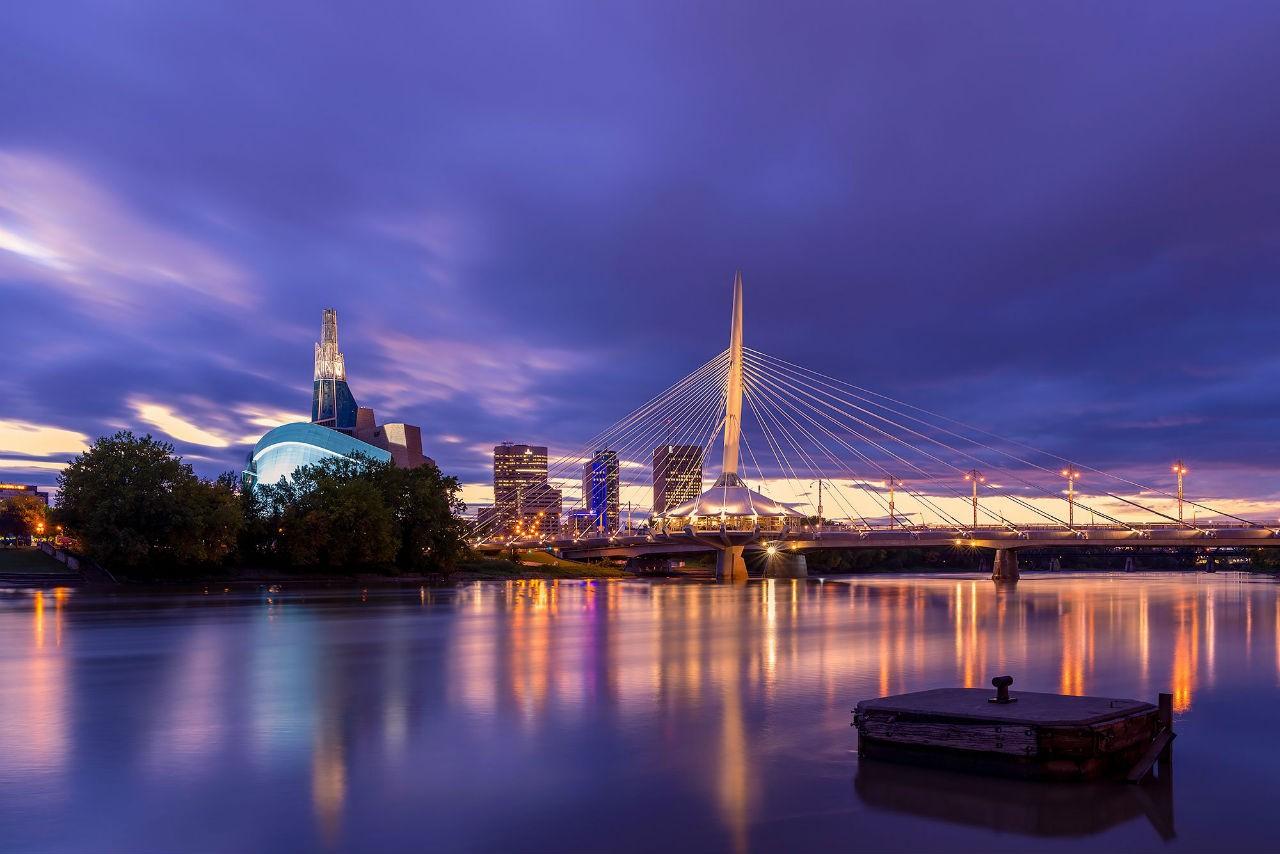 Cùng ngắm nhìn vẻ đẹp thanh bình củaWinnipeg, thành phố thủ phủ tỉnh Manitoba