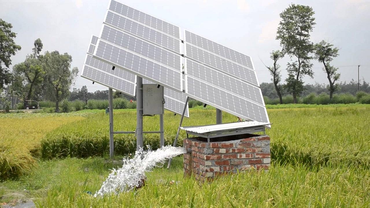Năng lượng bền vững giúp cung cấp nước