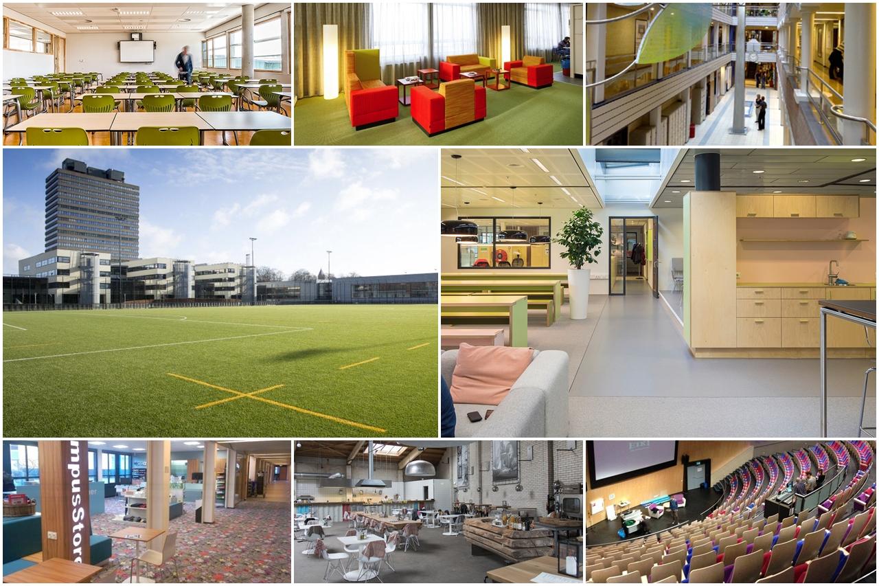 Cơ sở vật chất của Đại học KHUD HAN