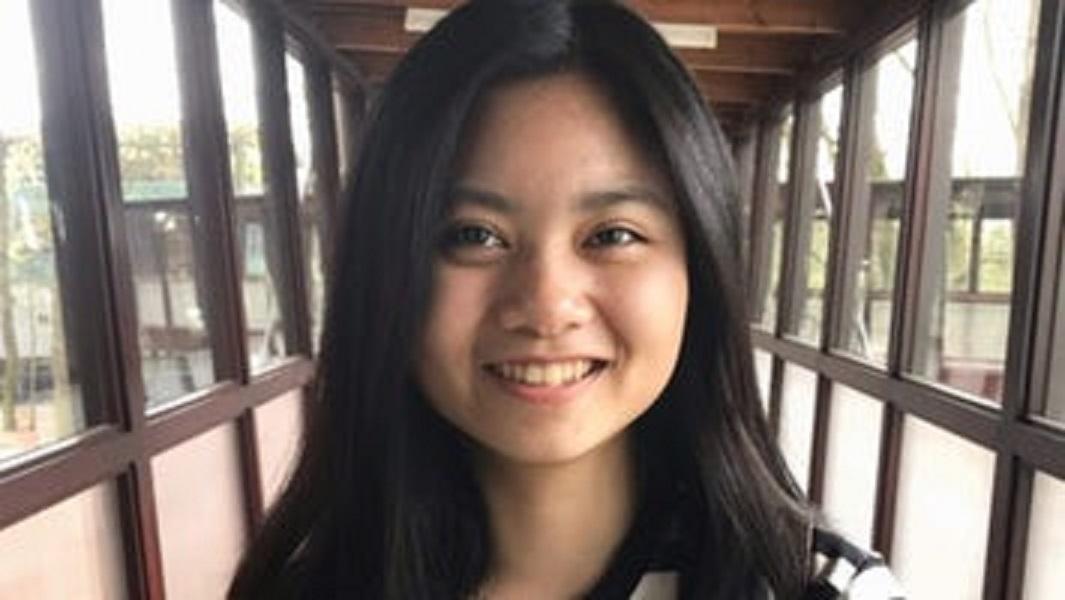 Thảo Vi hài lòng với việc đời sống sinh viên tại Đại học KHUD HAN