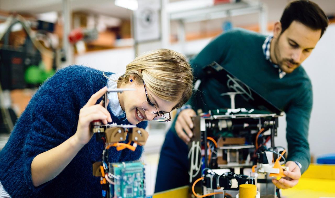 ngành kỹ thuật điện - điện tử tại Đại học KHUD HAN