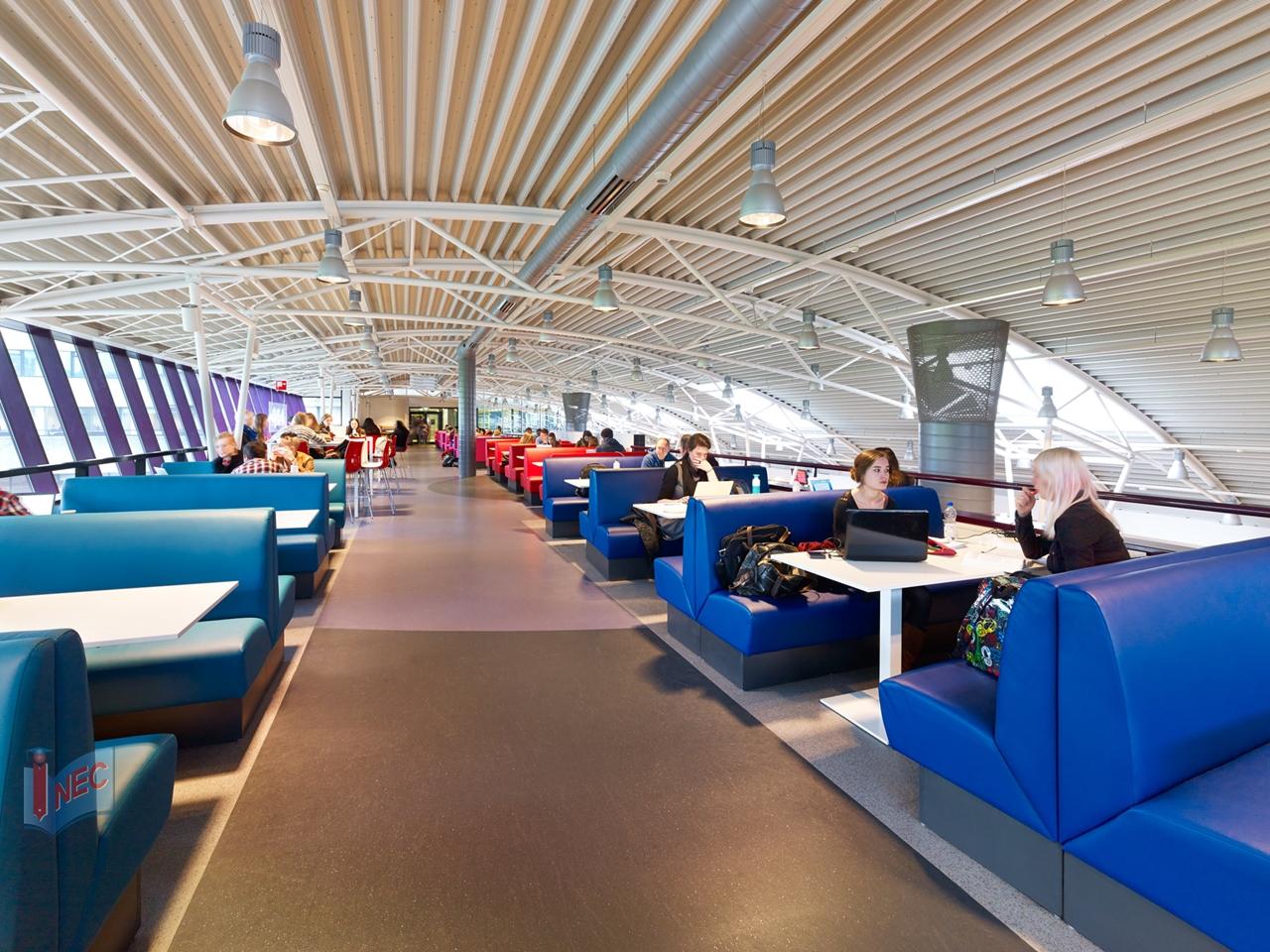 Kiến trúc bên trong Đại học Radboud