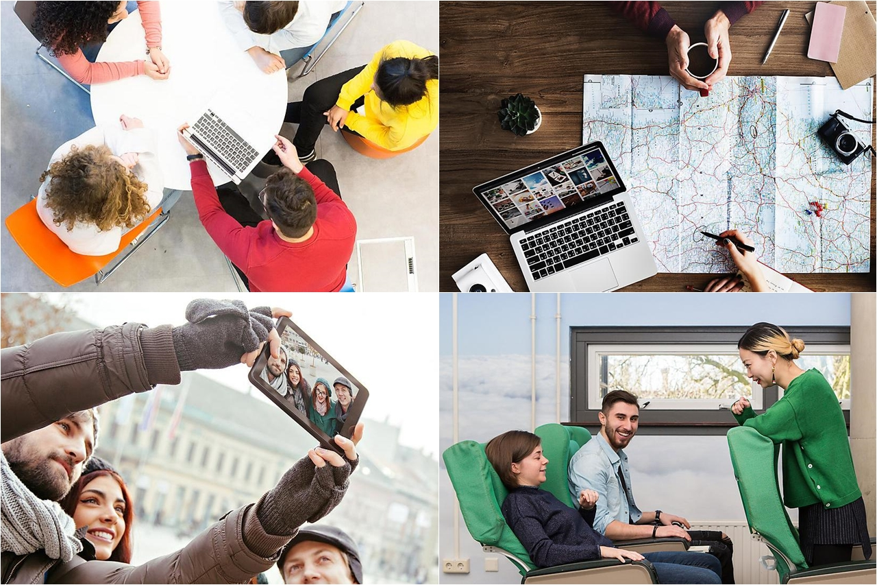 Làm việc nhóm qua các dự án, tự lên kế hoạch kinh doanh, trải nghiệm du lịch thực tế, tư vấn khách hàng... là những hoạt động của sinh viên ngành quản lý du lịch trong quá trình học tập tại Đại học KHUD Saxion