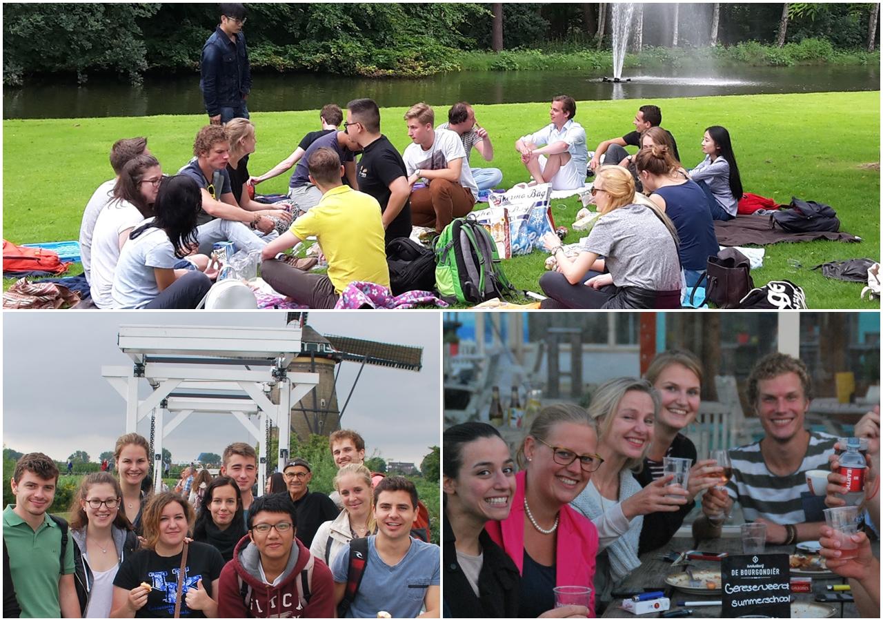 Sinh viên được tham gia nhiều hoạt động xã hội thú vị khi du học Hà Lan tại Đại học Tilburg
